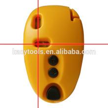 Línea de nivel de láser horizontal y vertical de venta caliente SL09 rojo