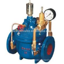 400X válvula de controle de fluxo de fabricante de válvulas profissionais em Xangai