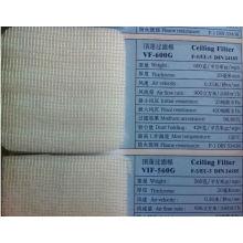 Material del filtro de la cabina de pulverización, filtro de techo F5