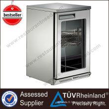 Réfrigérateur commercial utilisé pour le mini congélateur profond portatif de barre de vente