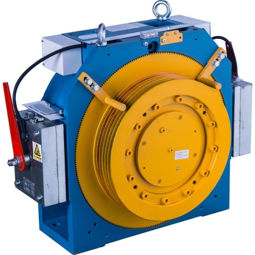 20 Polen Gearless Lift Traction Machine