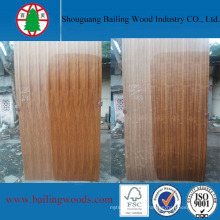 Natural Teak Plywood Flower Grain 3.2mm to India