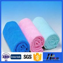 Fabricación de lavado de coche al por mayor de la toalla del microfiber para la promoción