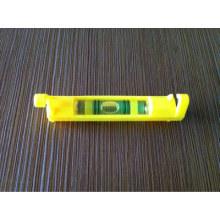 Linha de plástico amarelo Nível do frasco de 7001001