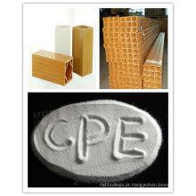 Resistência à chama CPE135A para perfil de plástico em PVC