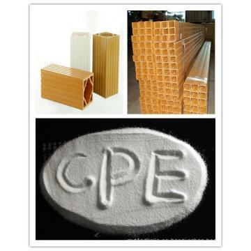 Resistencia a la llama CPE135A para perfil de PVC