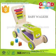 2015 Fashionable Eco-friendly Educational Euqipment Wooden Infant Stroller