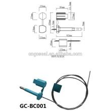 GC-BC001 Double verrouillage haute sécurité conteneurs scellés