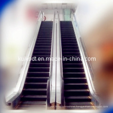 Escalator with Hairline Stainless Steel
