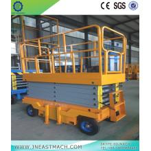 Plataforma de trabajo aérea vertical hidráulica 1t 6m