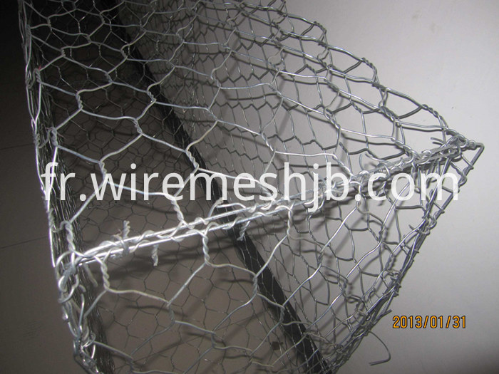 Galvanized Hexagonal Mesh Gabion
