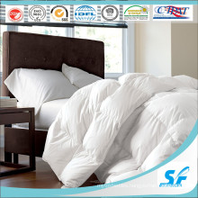Single Bed White Hotel Quilt with Goose Down Filling
