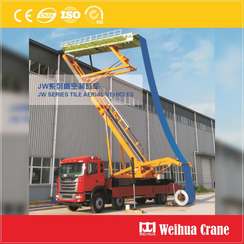 Roofing Panel Truck Crane