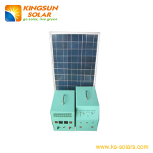 Solar Home Power System Solar Panel: 70W; Battery: 38ah
