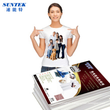 A4 T-Shirt Heat Transfer Paper for 100% Cotton Fabric