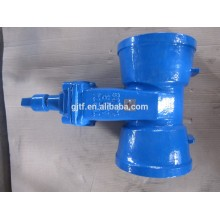 Cast steel Gate Valve with internal tread with gear worm