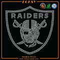 Raiders rhinestone heat transfer designs