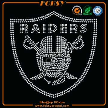 Leading Manufacturer for Car Rhinestone Transfer Raiders rhinestone heat transfer designs supply to American Samoa Factories