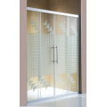 Puerta de ducha simple Puerta de ducha de vidrio