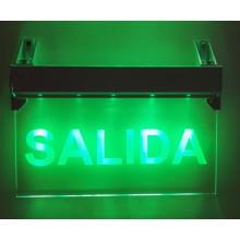 Sortie, éclairage de secours, sortie de secours signe, Salida sortie lumière