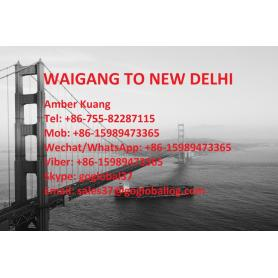 Shanghai Waigang Sea Freight do Indii New Delhi