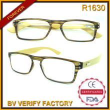 R1630 Personalized Design New New Ultra Thin Bamboo Temples Reading Glasses