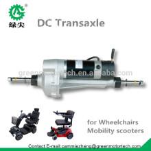 Fabriqué en Chine électrique DC moteur transaxle pour les véhicules électriques