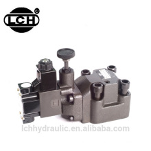 Alibaba China supplier yuken solenoid controlled forklift control hydraulic pressure relief valve