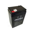 Bateria recarregável selada acidificada ao chumbo 6V 4Ah bateria recarregável