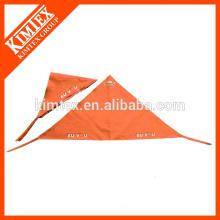 Triangle de coton tête personnalisée imprimé bandana bon marché