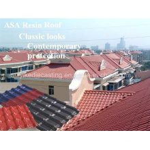 Excellent Corrosion Resistance Plastic Roofing Tiles for Building Materials