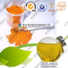 Natural E10-E550 Gardenia Yellow Pigment Price