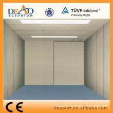 Грузовой лифт машинного отделения с листовой сталью