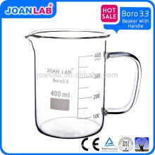 Vaso de vidrio de venta caliente JOAN Lab con mango
