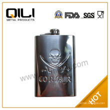 wholesale 6oz thermos hip stainless steel flask gifts men