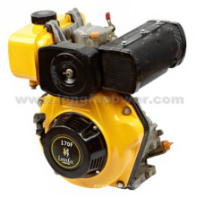 Pequeño motor diesel de alta calidad (LF170F) con CE Soncap