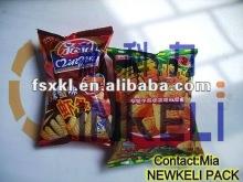 chips puffed food granule packing machine
