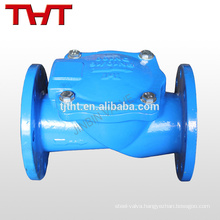BS5153 swing flange type non return non slam stop check valve operation