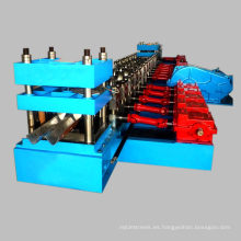 Mejor precio CE thire ondas w viga de acero barandilla de la carretera rollformer rail guard barrera de choque rollo que forma la máquina