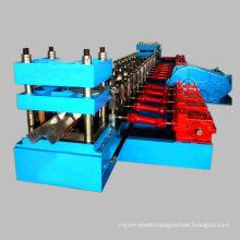 Best price CE thire waves w beam steel highway guardrail rollformer guard rail crash barrier roll forming machine