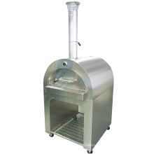 Mobile German Outdoor Stainless Steel Pizza Oven Wood