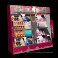 China Factory Supply LED Light Wooden Cosmetic Display Stand