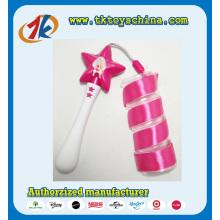 Lustiges Plastik-Stern-geformtes Band-Tanzen-Stock-Spielzeug