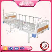 MDK-S405 Cheap Manual Hospial Folding Iron Bed With Sigle Function