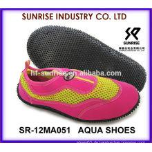 SR-14WA051 Mode-Damen Großhandel Wasser Schuhe Wasser Sportschuhe Aqua Schuhe Wasser Schuhe Surfen Schuhe
