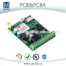 Multilayer Electronic Gps Tracker circuit assembly with sim908