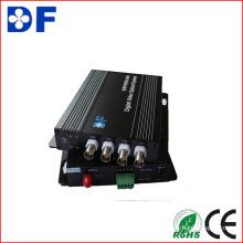 4CH Video + 1CH RS485 Daten Optischer Video Konverter