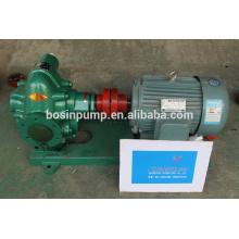 Électrique moteur différents pompage machine pétrole brut, fioul, lubrifiant pompe de transfert huile pour champ de pétrole
