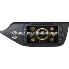 Média de voiture usine directe pour KIA 2014 CEED avec GPS / Bluetooth / Radio / SWC / Internet virtuel 6CD / 3G / ATV / iPod / DVR