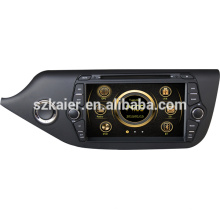 Direct factory car media for KIA 2014 CEED with GPS/Bluetooth/Radio/SWC/Virtual 6CD/3G internet/ATV/iPod/DVR